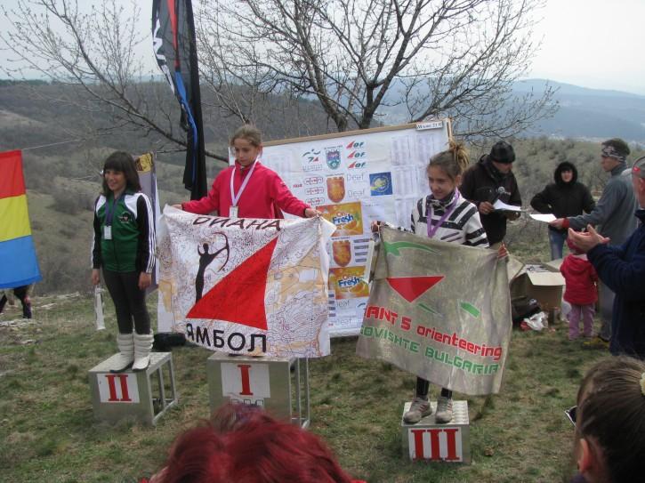 """купа """"Трите хълма"""" 2013, Ж12"""