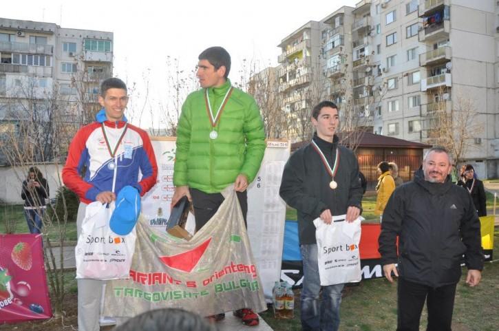 """купа """"С карта из Търновград"""" 2013, М21Е"""