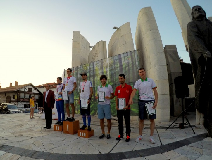 SEEOC 2015 Sprint - Prize giving M21E