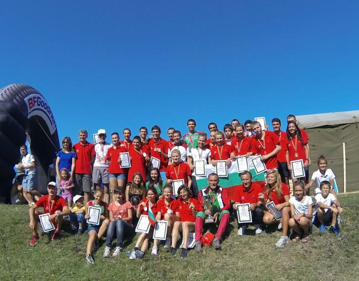 Национален отбор на България за SEEOC 2013