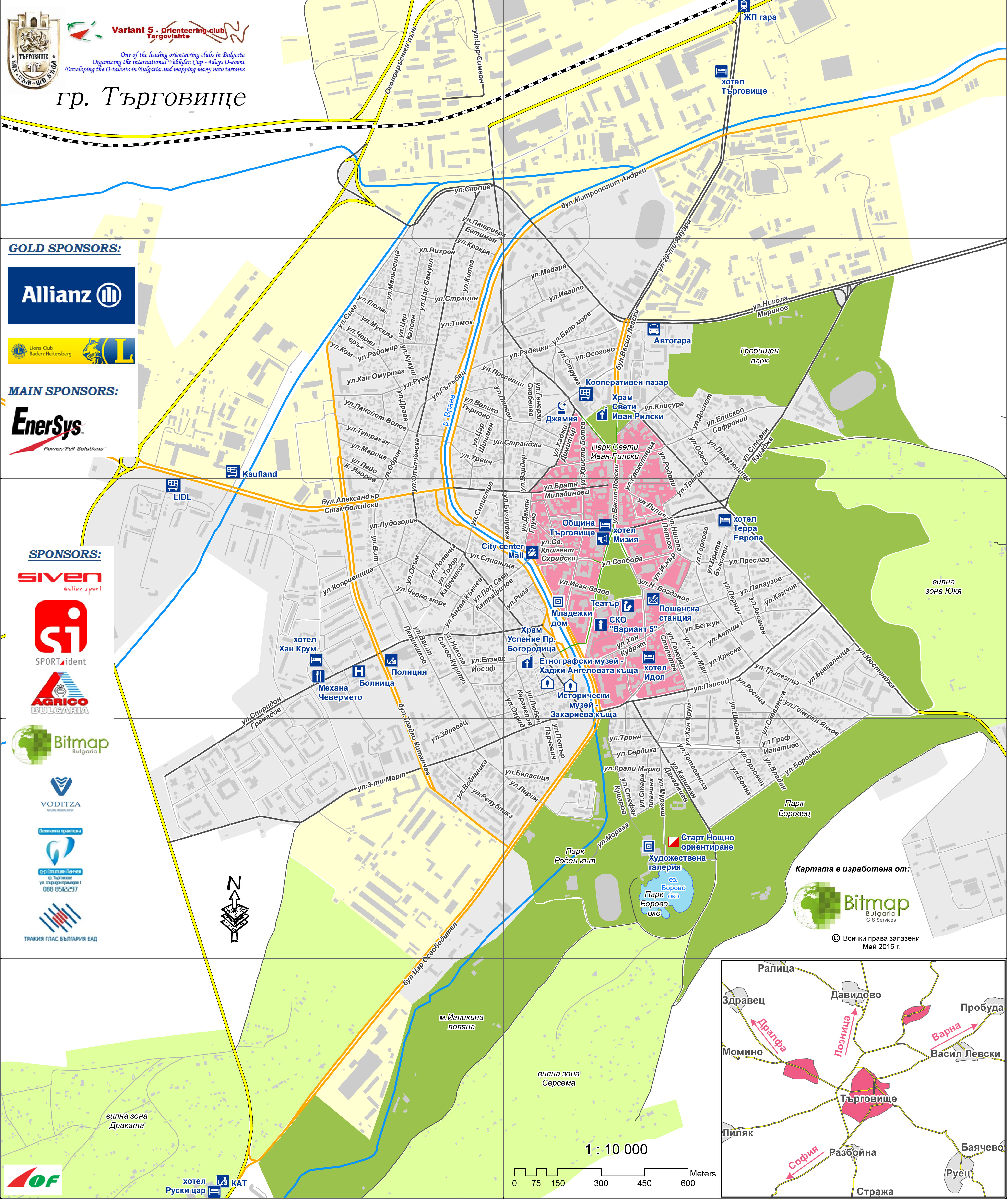 28 April 2015 Variant 5 Orienteering