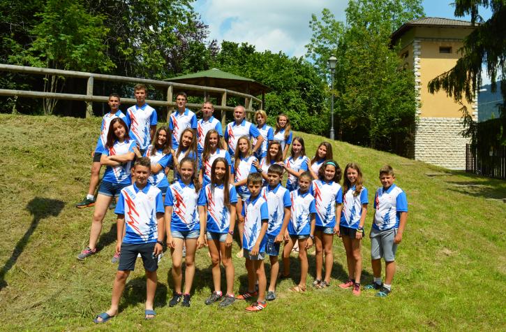 Variant 5 Orienteering team (2016)