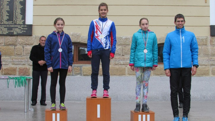 ДП 12-18 год - Спринт - Ж12 - Пламена Христова със златен медал